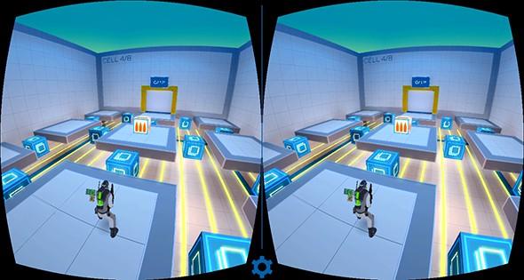 《源代码VR》我有独特的射击技巧