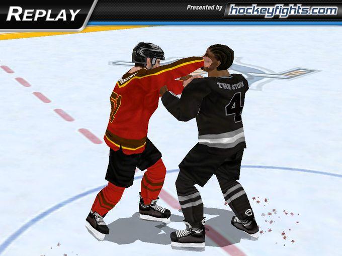 冰球格斗  是冰球还是格斗?