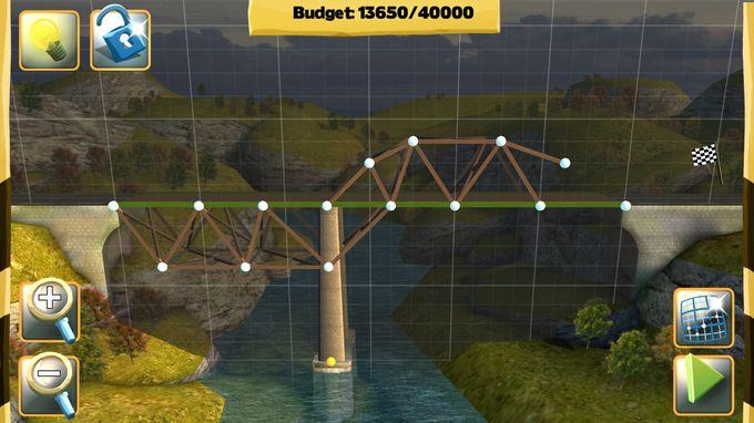 桥梁构造者攻略