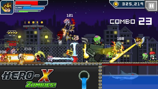 英雄X:僵尸游戏攻略
