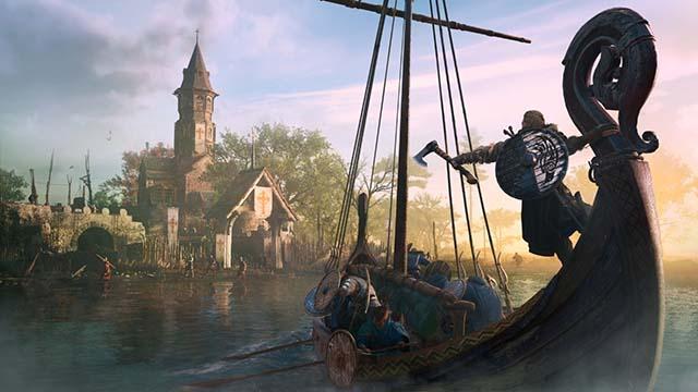 《刺客信条:英灵殿》高清人物风景游戏截图
