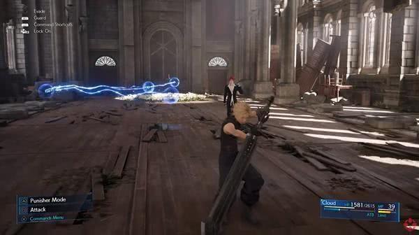 最终幻想7重制版雷诺BOSS战 检测走位的战役