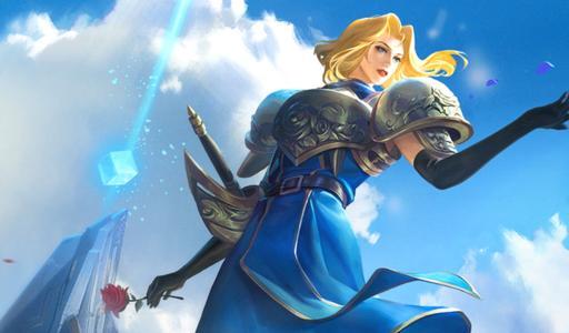 《王者荣耀》:来了来了!女战士夏洛特她来了,终于不用在体验服肝了