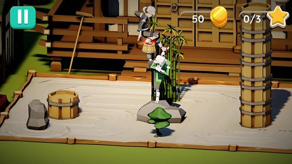 笨拙的跳跃者   教你一个游戏技巧