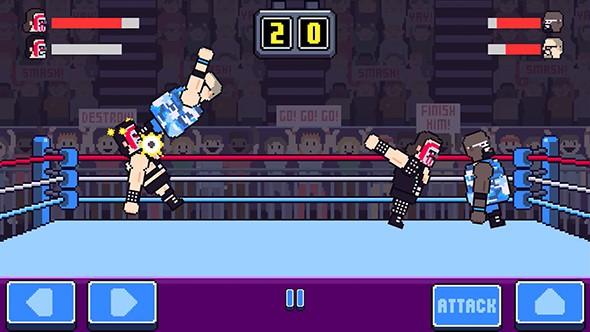 狂野摔跤如何迅速制服对手