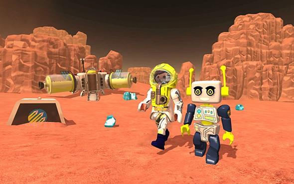 摩比火星任务   火星上的生存