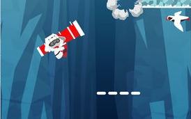 冰缝  冰缝中的探险