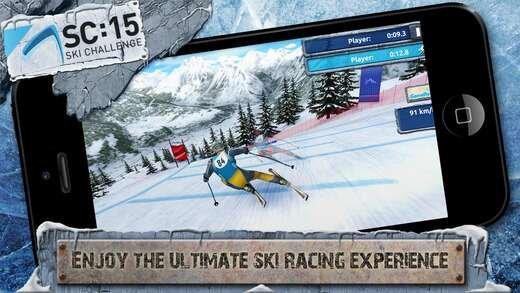 极限滑雪挑战赛15  我有独特的滑雪技巧