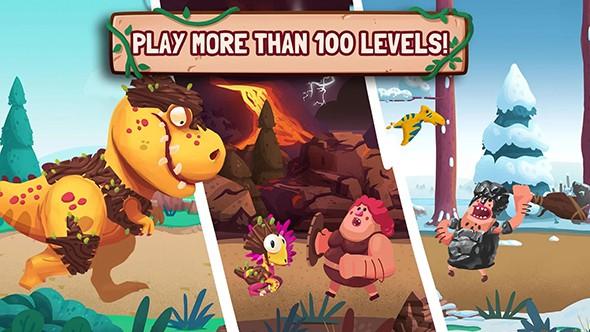 恐龙大战原始人游戏玩法攻略
